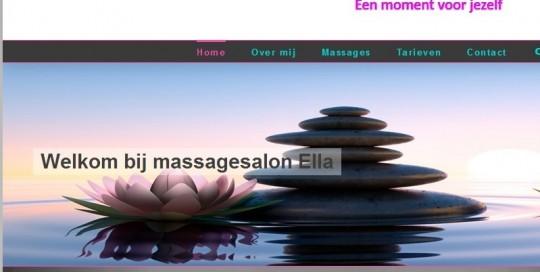 website massagesalon ella